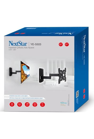 """Nextstar YE-5503 37"""" 94 Ekran Haraketli Tv Askı Aparatı"""