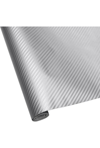 Newdizayn Silver-Gri Karbon Folyo 127 cm x 2 m