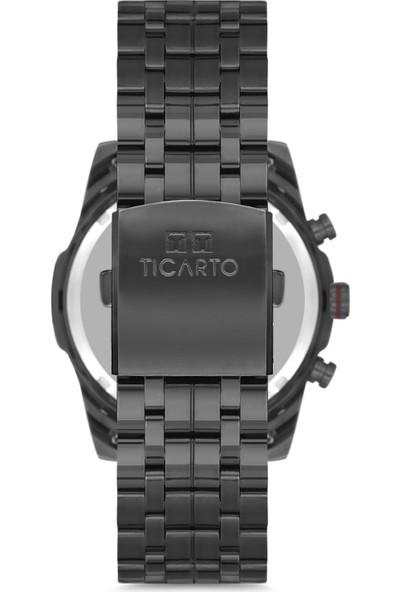 Ticarto T-6156A Su Geçirmez Çelik Kasa Erkek Kol Saati