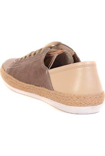 Freefoot - Bronz Renk Kadın Günlük Ayakkabı