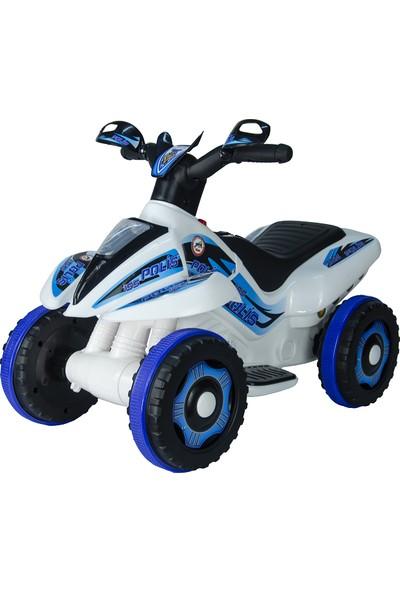 UJ Toys 6V Akülü ATV - Polis