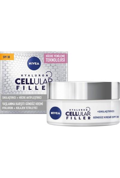 Nivea Hyaluron Cellular Filler + Sıkılaştırıcı Yaşlanma Karşıtı Gündüz Kremi Spf 30 50 ml