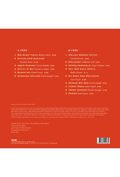 Yeşilçam Şarkıları 1-Aşkın Kanunu (Plak)