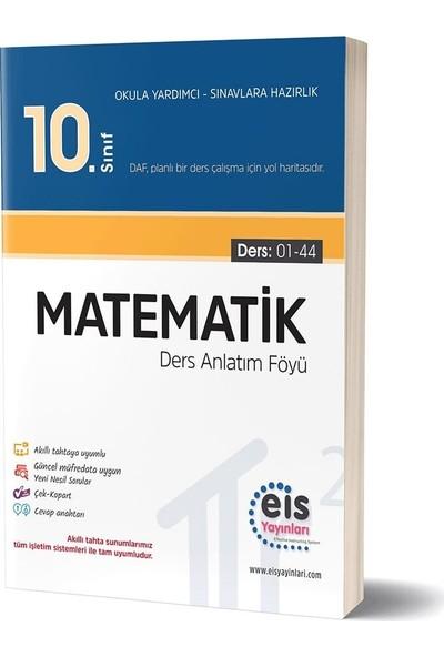 Eis Yayınları 10. Sınıf Matematik Daf