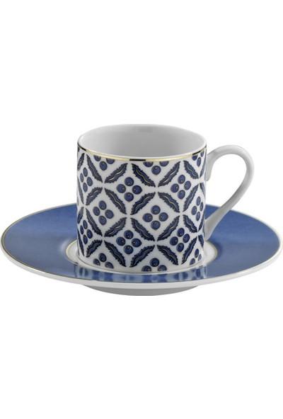 Kütahya Porselen Çintemani 9737 Desen Kahve Fincan Takımı