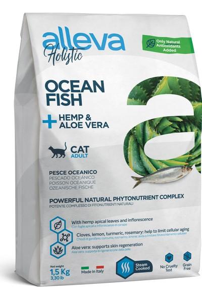 Alleva Holıstıc Balık Yetişkin Kedi Maması 1.5kg