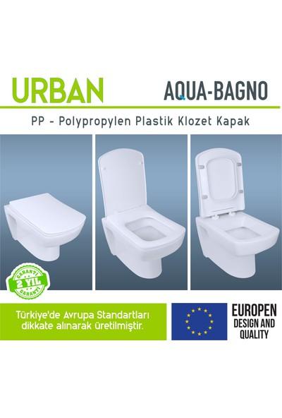 Aqua Bagno Urban Yavaş Kapanan Klozet Kapağı