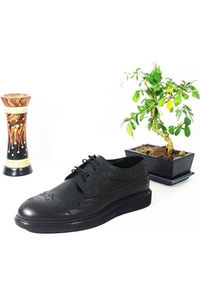 Hakiki Deri Poliüretan Taban Oxford Günlük Erkek Ayakkabı