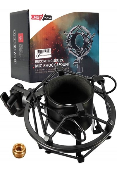 Lastvoice Shock Pro-01 Black Metal Shock Mount
