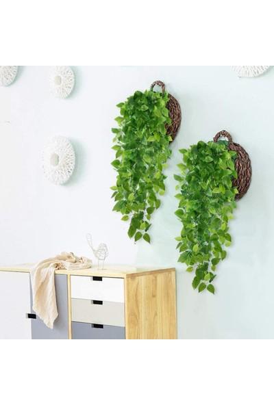 Nettenevime Sarkan Yeşil Yaprak Sarmaşık Yapay Çiçek 100X35CM Dev Bitki Sy1