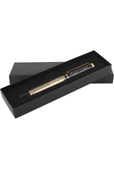 hediyeiste İsme Özel Besmele Gravürlü Kalem