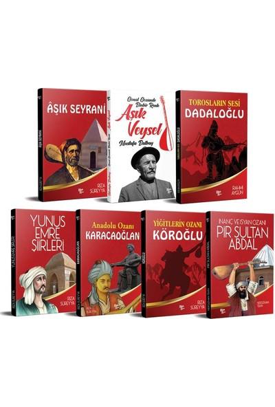 Halk Kitabevi Anadolu Ozanları Seti - 7 Kitap