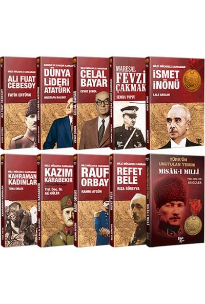 Halk Kitabevi Milli Mücadele Kahramanları Seti + Atatürk Büstü