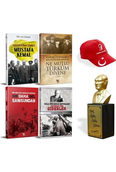 Kocatepe Kitap Seti +Atatürk Büstü ve Şapka - Kahraman Yusufoğlu