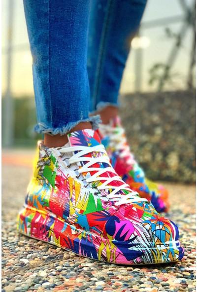 Orya Chekich CH265 Bt Kadın Ayakkabı Renkli