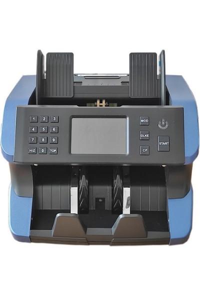 Bill Counter Integra AL-185 Karışık Para Sayma Makinesi Tl - Eur Usd Adet Sayım