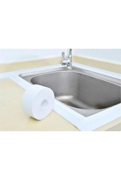 Technosmart Su Sızdırmaz Bant Mutfak Lavabo Pencere Duvar Bandı 3.2 M