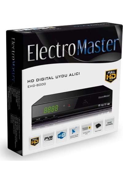 Electromaster EHD-8000 Full Hd Uydu Alıcısı
