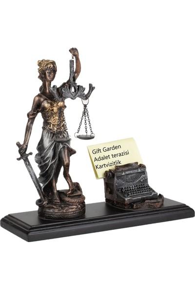 Gift Garden Adalet Kartvizit Masa Üstü Biblo