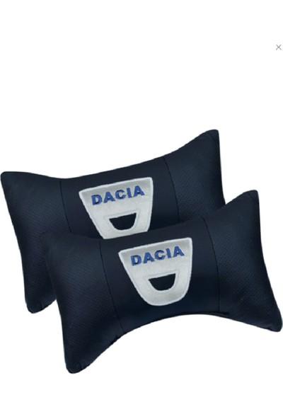 S&S Dacia Seyahat Boyun Yastığı ve Kemer Pedi Takımı Nakışlı