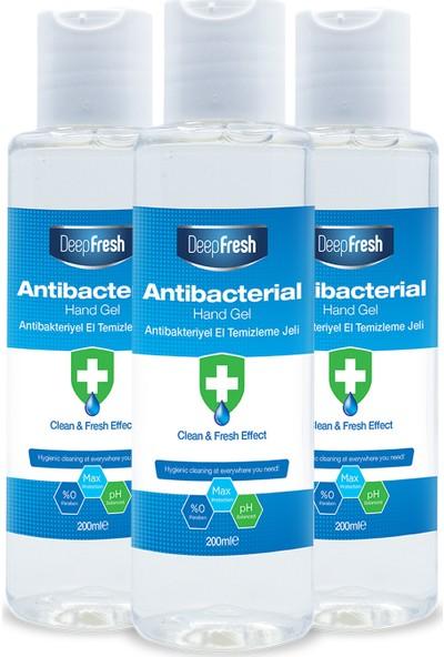 Deep Fresh Antibakteriyel El Temizleme Jeli 3 x 200 ml