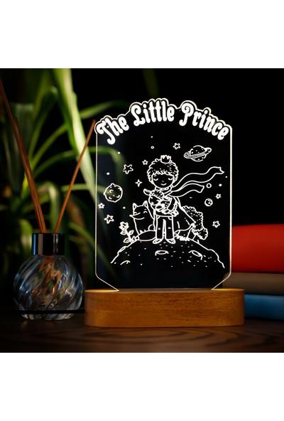 Hediye Sepeti The Little Prince-Küçük Prens 3D LED Gece Lambası