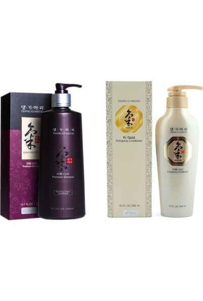 Ki Gold Premium Şampuan + Ki Gold Saç Kremi