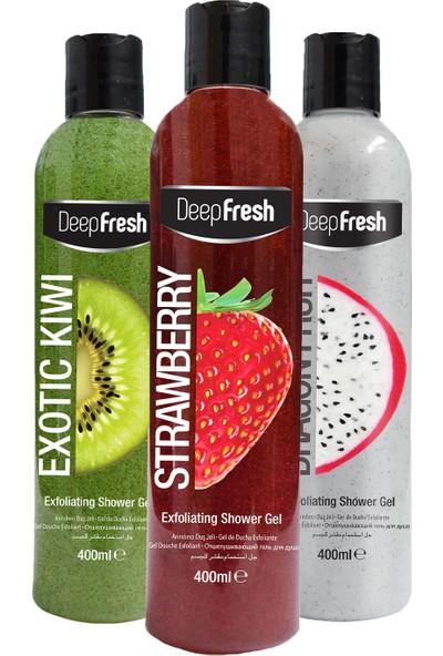 Deep Fresh Arındırıcı Duş Jeli Karma Paket 3 x 400 ml