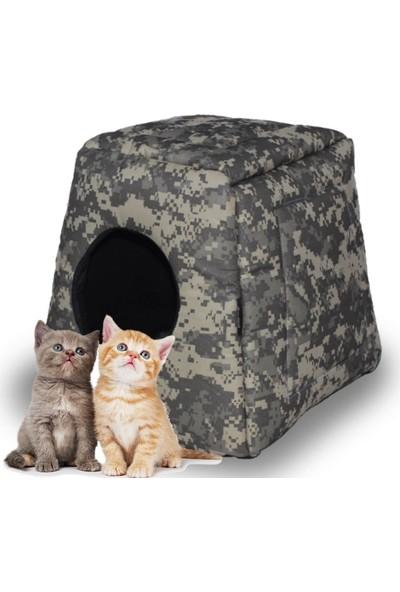 Zeepmax Evcil Hayvan Kedi Köpek Evi Yatağı Minderi 40 x 40 x 40 cm
