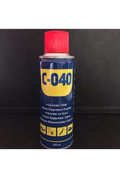 Ceytaş C-040 Pas Sökücü Yağlayıcı 200 ml