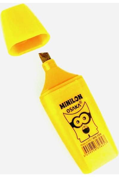Osaka Mini Metalik Fosforlu Kalem Sarı