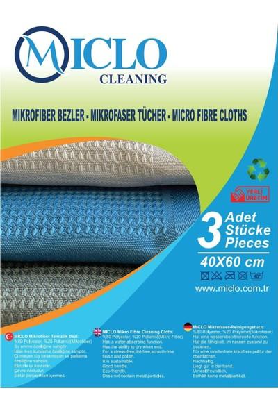 Miclo Cleaning Mikrofiber Bez (Pella Tr) 3'lü Paket