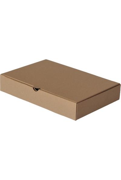 Kutuavm Pide Kutusu 28x20x5 cm Kraft 100 Adet