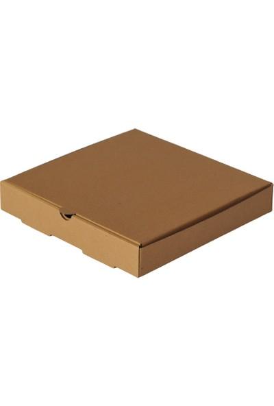 Kutuavm Pizza Kutusu 28x28x4 cm Kraft 500 Adet