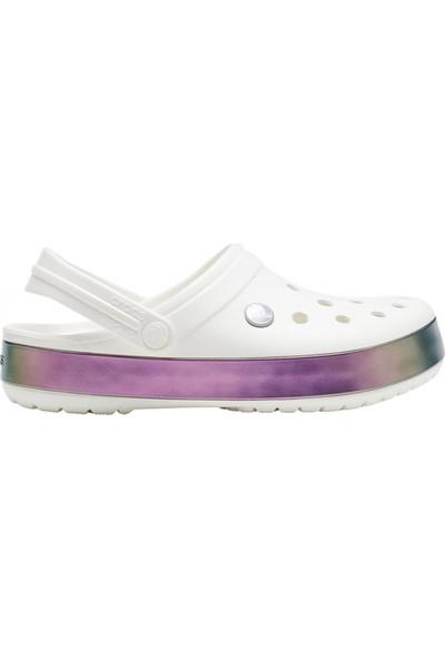 Crocs Irıdescent Band Spor Terlik Sandalet 206595-100