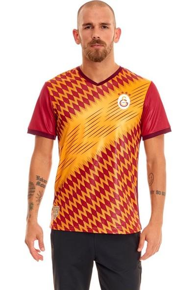 Galatasaray Omuz Omuza Sarı Taraftar Erkek Tişört