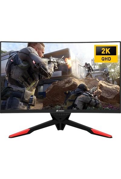 "GameBooster GB-277GCQ 27"" 144Hz 1ms (HDMI+Display) FreeSync 2K Curved Monitör"