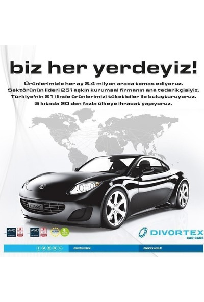 Divortex Dvx Wash Berry Ph Nötr + Dvx Premium Koyun Yünü Yıkama Eldiveni