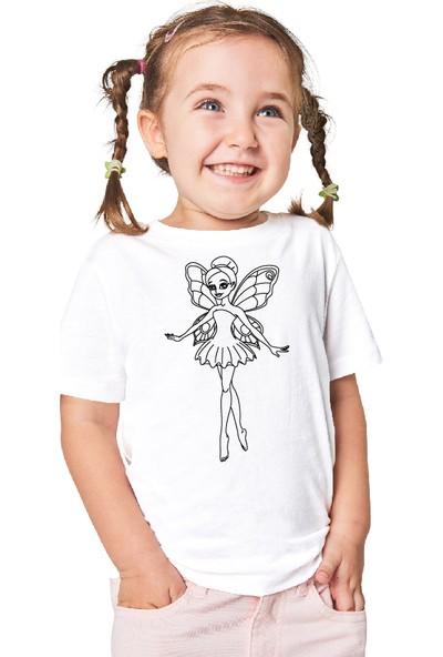 Paint&Wear Sihirli Peri Boyama T-Shirt 4-6