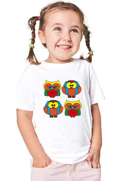 Paint&Wear Baykuş Boyama T-Shirt 7-8