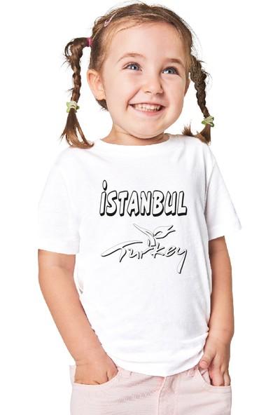 Paint&Wear İstanbul Boyama T-Shirt 4-6