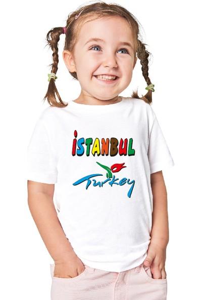 Paint&Wear İstanbul Boyama T-Shirt 7-8