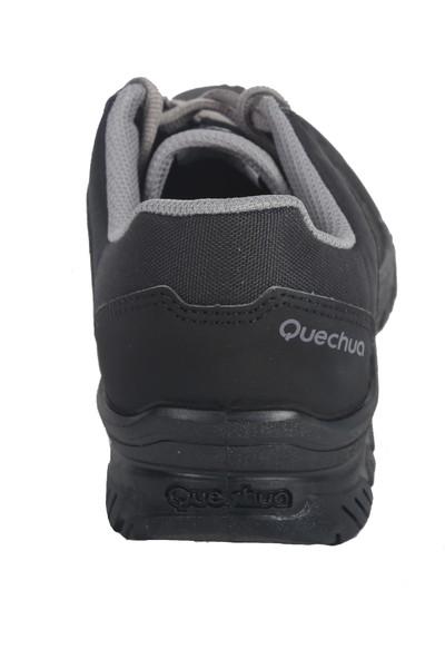 Quechua By Decathlon Erkek Ayakkabı Doğa Yürüyüşü 100 Siyah