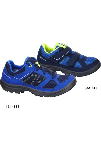Quechua By Decathlon Çocuk Ayakkabı Doğa Yürüyüşü 100 Mavi