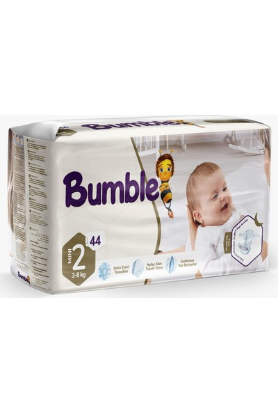 Bumble 2 Numara Bebek Bezi Ikiz Paket