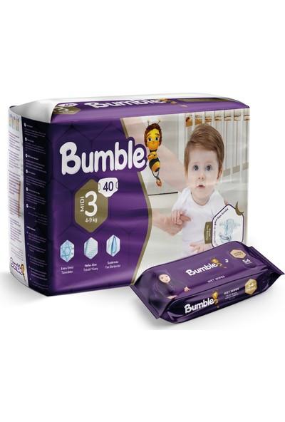 Bumble 3 Numara Midi Bebek Bezi Ikiz Paket