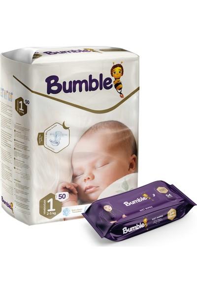 Bumble 1 Numara Yenidoğan Ikiz Paket+Bumble Baby Islak Mendil Hediyeli