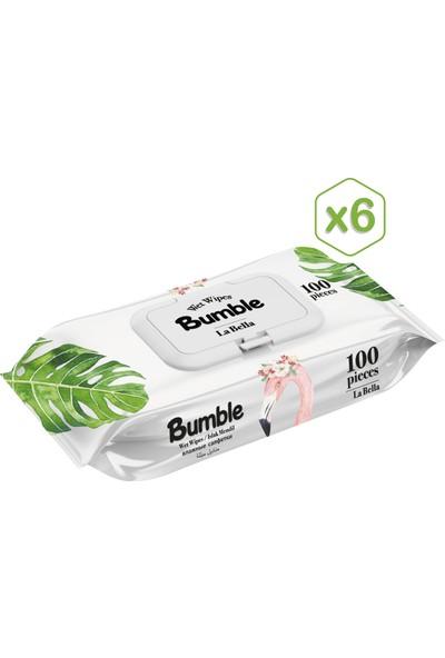 Bumble La Bella Islak Mendil 100 Yaprak*6'lı Paket
