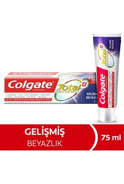 Colgate Total Gelişmiş Beyazlık Diş Macunu 2 x 75 ml
