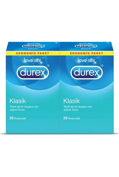 Durex Klasik 40'lı Prezervatif